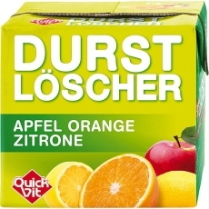 QuickVit Durstlöscher Apfel Orange Zitrone 12x500ml