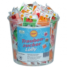 Frigeo Traubenzucker Lolly 100 Stk.
