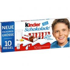 Ferrero Kinder Schokolade 10x125g