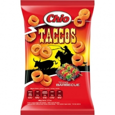 Chio Taccos Texas Barbecue 12x75g