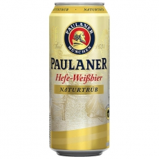 Paulaner Hefe-Weißbier naturtrüb 24x500ml inklusive Pfand