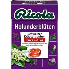 Ricola Holunderblüten ohne Zucker 20x50g