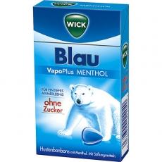 Wick Blau Menthol ohne Zucker 20x46g