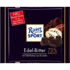 Ritter Sport Edel-Bitter 9x100g