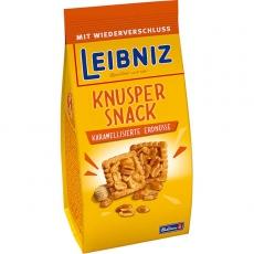 Leibniz Knusper Snack Karamellisierte Erdnüsse 10x175g