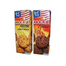 Cookies Nougatine & Tout Chocolate 21x200g