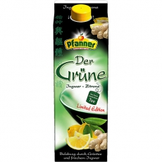 Pfanner Grüner Tee Ingwer-Zitrone Limited Edition 6x2l