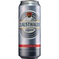 Clausthaler Classic Alkoholfrei 24x500ml inklusive Pfand