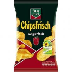 Funny-Frisch Chipsfrisch Ungarisch 12x50g