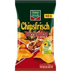 Funny-Frisch Chipsfrisch Currywurst 10x175g
