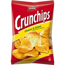 Lorenz Crunchips Cheese & Onion 10x175g