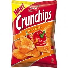Lorenz Crunchips Hot Paprika 8x175g