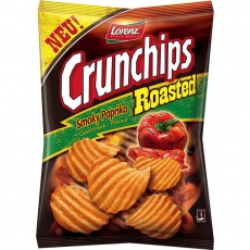 Lorenz Crunchips Roasted Smoky Paprika 8x150g