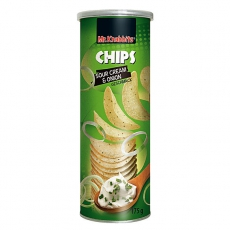 Mr.Knabbits Chips Sour Cream & Onion 15x175g
