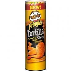 Pringles Tortilla Chips Nacho Cheese 19x180g