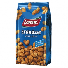 Lorenz Erdnüsse Würzig Pikant 14x150g