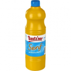 Bautzner Senf mittelscharf 1L