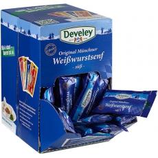 Develey Original Münchner Weißwurstsenf -Süß- 100x15ml