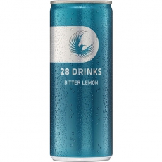 28 Drinks Bitter Lemon 24x250ml inklusive Pfand