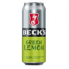Becks Green Lemon 24x500ml inklusive Pfand