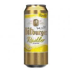 Bitburger Radler Zitrone 24x500ml inklusive Pfand