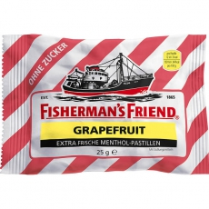 Fishermans Friend Grapefruit ohne Zucker 24x25g
