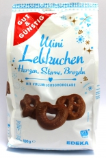 G&G Mini Lebkuchen mit Vollmilchschokolade