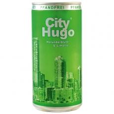 City Hugo Holunderblüte & Limette 12x200ml