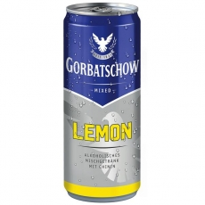 Gorbatschow & Lemon 12x330ml inklusive Pfand