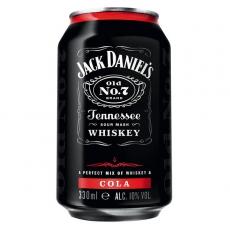 Jack Daniels Cola 24x330ml inklusive Pfand