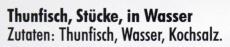 Adria Thunfisch in Wasser 1705g