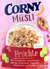 Corny Müsli Früchte 1000g