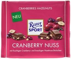 Ritter Sport Cranberry Nuss 250g