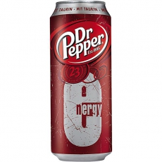 Dr. Pepper Energy 12x500ml inklusive Pfand