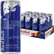 Red Bull The Blue Edition 12x250ml inklusive Pfand