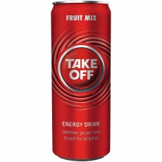 Take Off Red Fruit 24x330ml inklusive Pfand