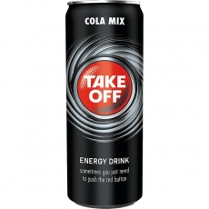 Take Off Energy + Cola 24x330ml inklusive Pfand