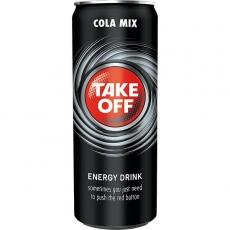 Take Off Energy + Cola 24x330ml inklusive Pfand