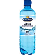 Christinen Spritzig Mineralwasser PET 24x500ml inklusive Pfand