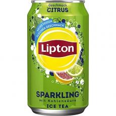 Lipton Ice Tea Sparkling Citrus 24x330ml inklusive Pfand