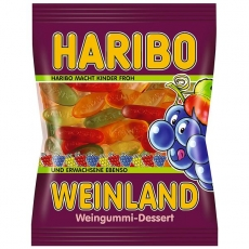Haribo Weinland Weingummi 30x100g