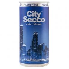 City Secco white Frizzante 12x200ml