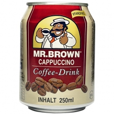 Mr. Brown Cappuccino Eiskaffee 24x250ml