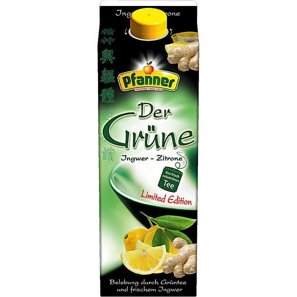 Grüner Tee Pfanner
