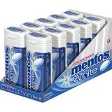 Mentos Gum White Pocket 10x30g