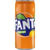 Fanta Orange 24x330ml inklusive Pfand