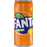 Fanta Orange 24x330ml inklusive Pfand