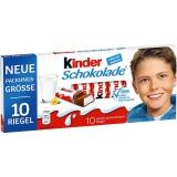 Ferrero Kinder Schokolade 10x100g