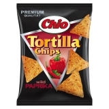 Chio Tortilla Chips Wild Paprika 10x125g
