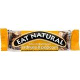 Eat Natural Nuss- und Fruchtriegel Erdnuss & Popcorn, mit stücken aus Zartbitterschokolade 12x45g